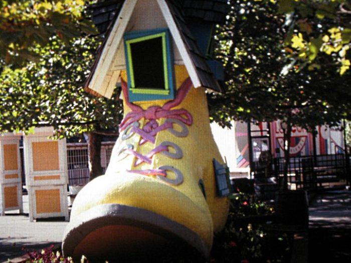 5. Mother Hubbard's Shoe