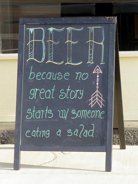 7. Great local wine and beer varieties