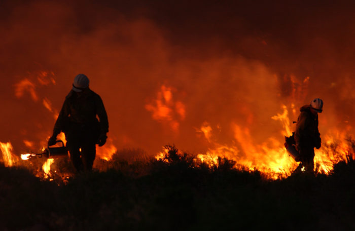 6. The day Idaho's largest range fire in over a decade consumed close to 300,000 acres.