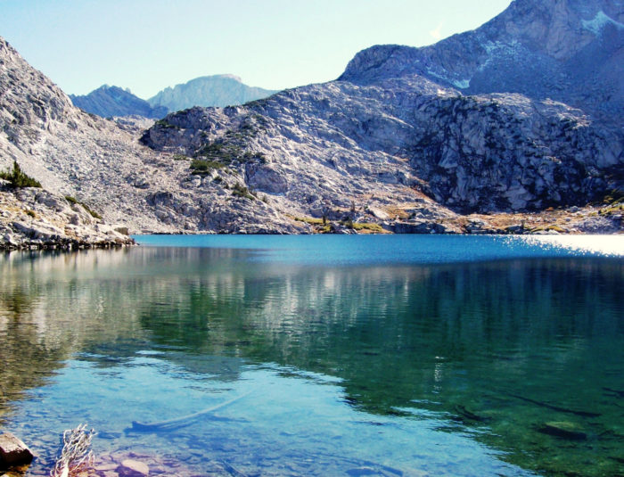 12. Picnic at a lake in the Ruby Mountains.