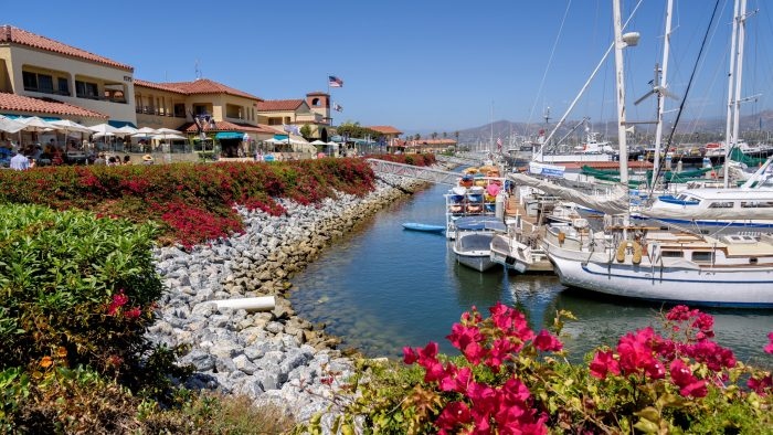 6. Spend a day shopping and dining and boating at Ventura Harbor Village.