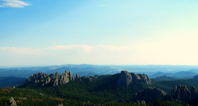 6. South Dakota is home to the highest summit east of the Rocky Mountains.