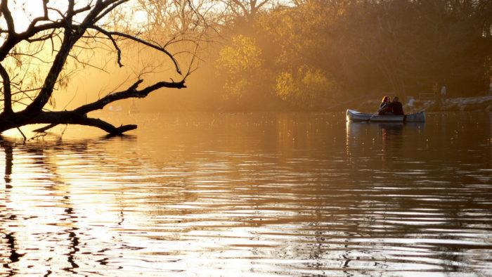 1. Lady Bird Lake & the Towne Lake Trail...so beautiful to hike, bike, walk, run, swim, and of course canoe at sunset!