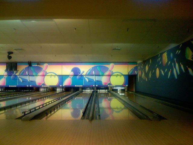 5. Go bowling.