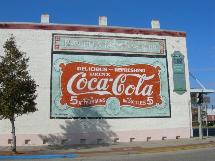 Coca-Cola Mural in Downtown Quincy