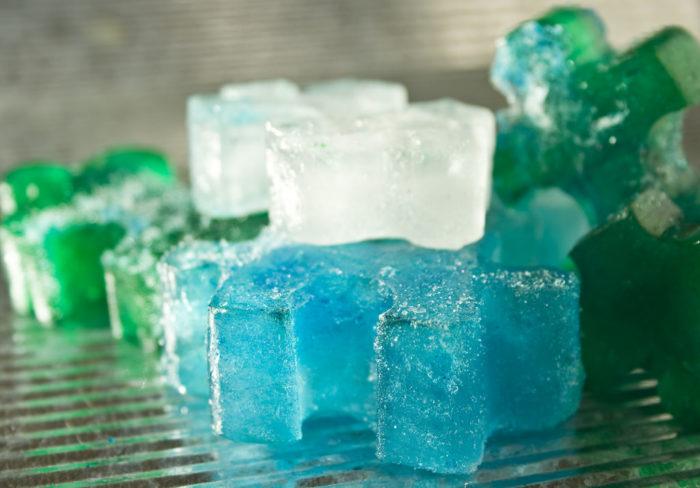 7. Freeze Aloe Vera in ice cube trays to keep that farmer's tan (or sunburn) at bay.