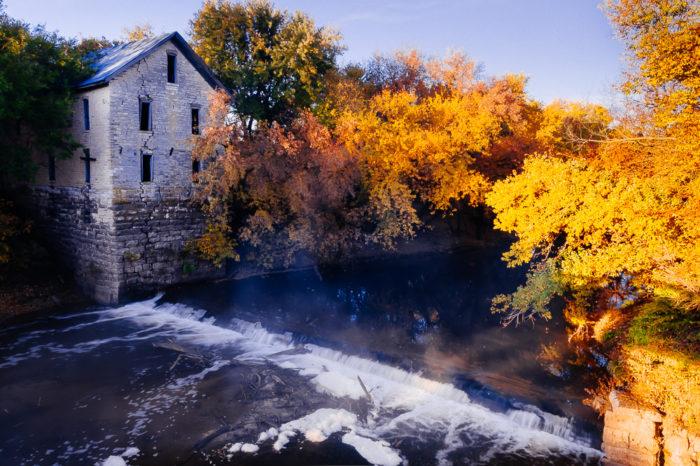 1. Drinkwater & Schriver Flour Mill (Cedar Point)