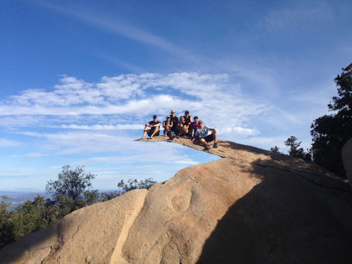 1. Potato Chip Rock at Mt. Woodson in Poway will give you chills if you're brave enough to walk out on the edge.