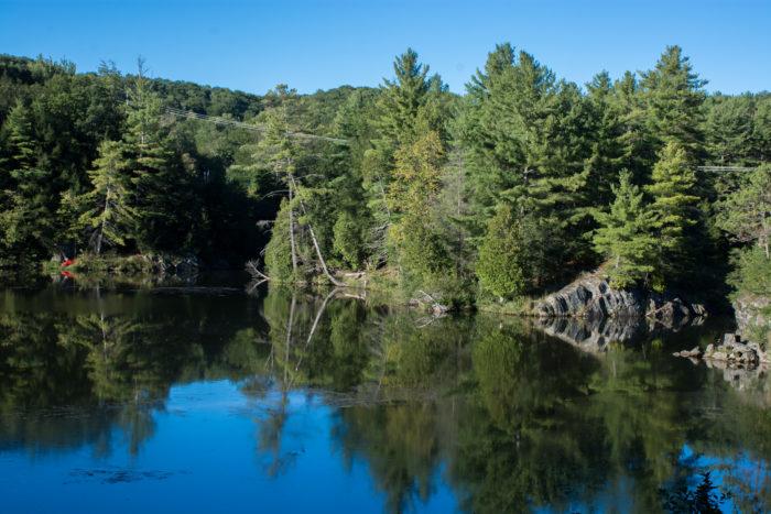 5.  Lower Lamoille River, Milton