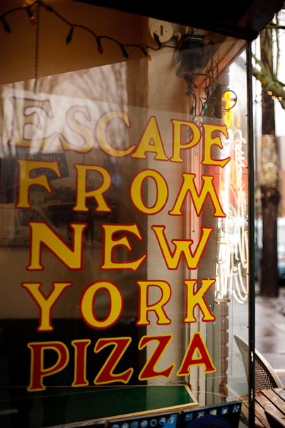 11. Escape From New York Pizza - NW Portland