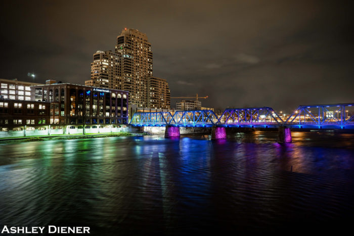 6. Blue Bridge, Grand Rapids