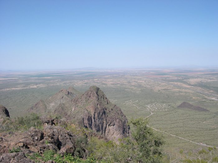 7. The view from Picacho Peak looks like you're on top of the world!