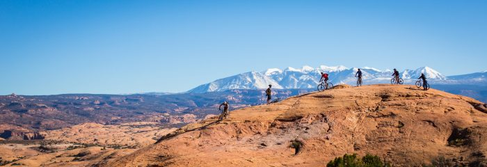11. Or biking the canyonlands of Moab...