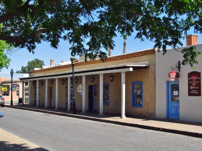 3. If you want to live in a small town: Mesilla