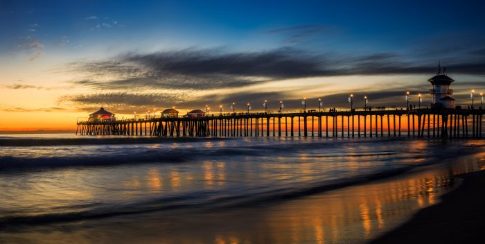 1. There are so many piers to experience in Southern California. Huntington Beach Pier pictured here.