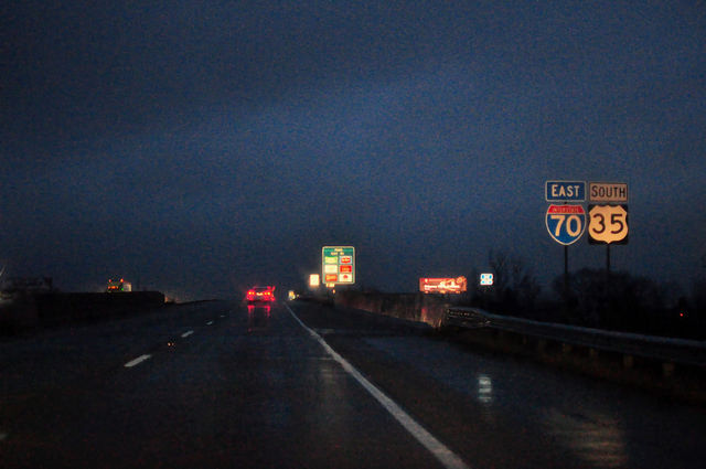 8. If crossing the highway by foot at night, you can't wear tail lights.