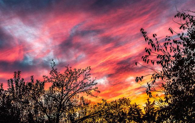 7. Indiana Sunset