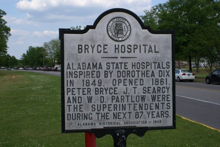 1. During the late 1800s, a newspaper was written entirely by patients of Bryce Hospital - an insane asylum in Tuscaloosa.