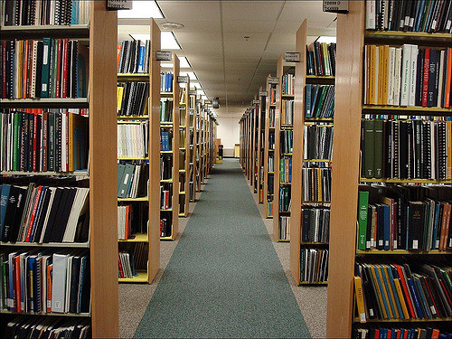 4. When we weren't sure about something, we went to the library and researched it.
