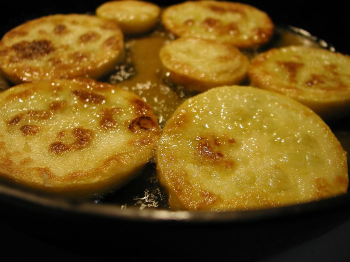 9. Fried squash