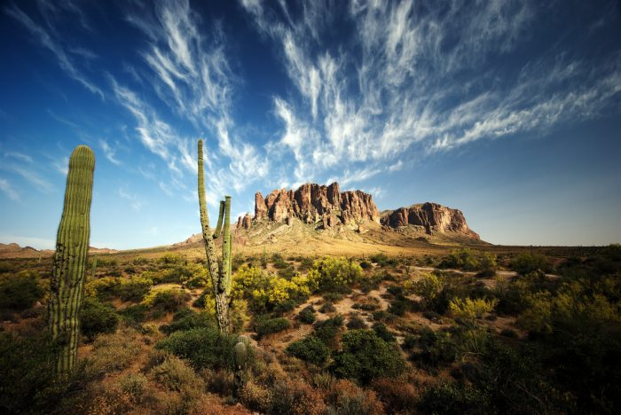 6. Superstition Mountains