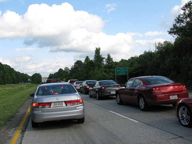 7. The people of Rhode Island know that if you have somewhere important to be, always leave 15 minutes early for traffic time. Rhode Island is one of the densest states, after all.