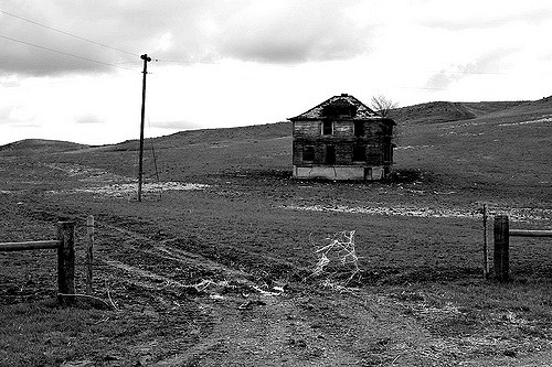 2. This abandoned home in the ghost town known as Capa.