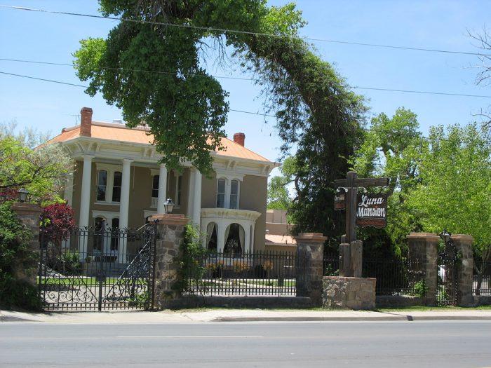 8. The Luna Mansion, Los Lunas