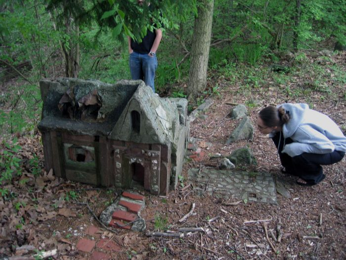 5.  The Little People's Village in Middlebury is said to be cursed grounds.