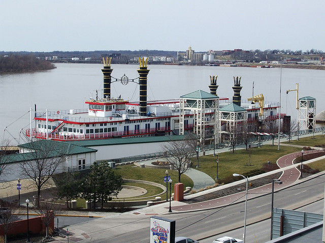 11. Win Big at the Tropicana Evansville Casino Riverboat