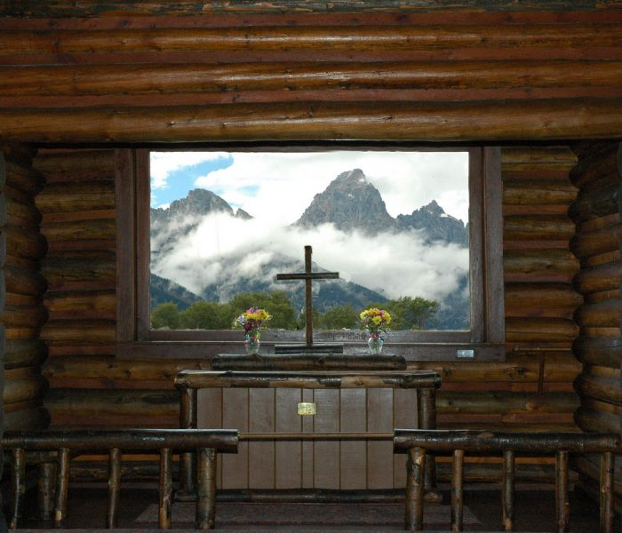 6. Sitting in the chapel and doing a little soul searching and quiet meditation while enjoying the solitude and majestic views of nature.