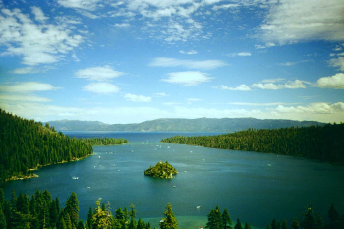 7. Reno is just a half hour from Lake Tahoe