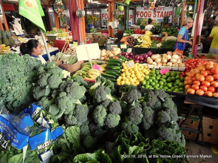10. Yellow Green Farmers Market, Hollywood