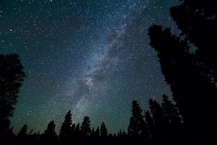 9. Go stargazing.