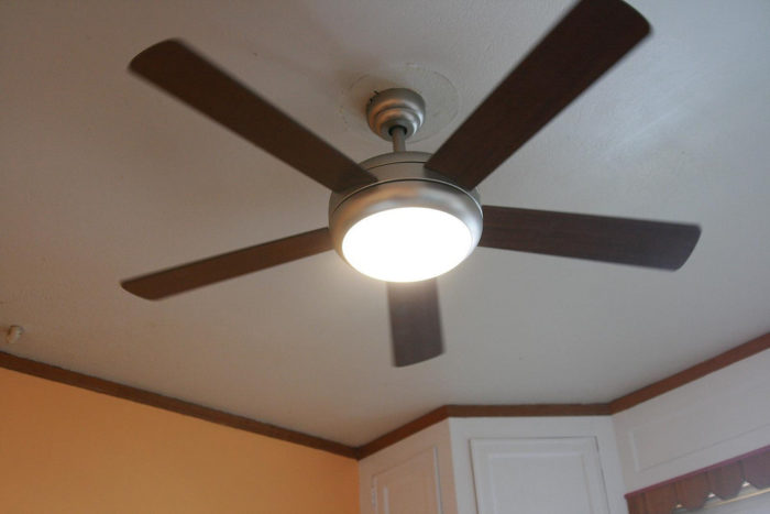 1. This summer, be sure to switch your ceiling fan direction to keep cool air moving.