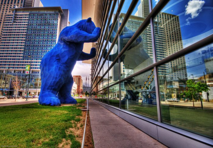17. The Big Blue Bear