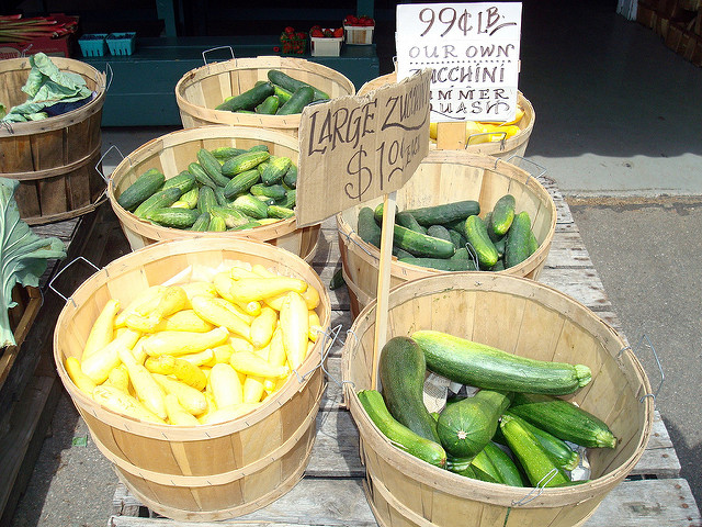 4. Buying zucchini or tomatoes. You or your  neighbors always have an overflowing garden of them.