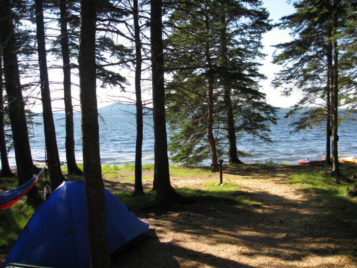 8. Warren Island State Park, Penobscot Bay