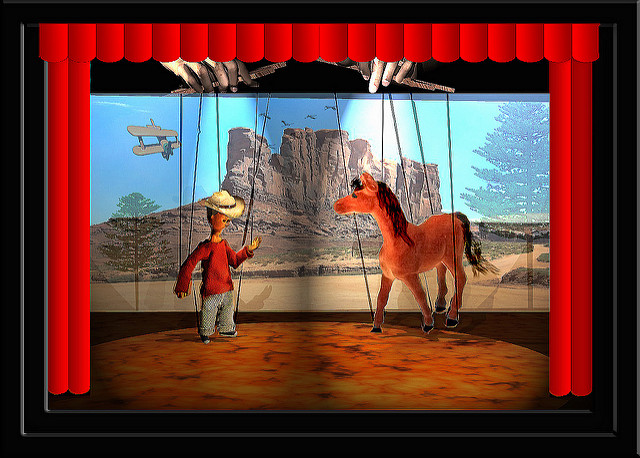 4. If you charge money for a puppet show, you'll be fined $3.