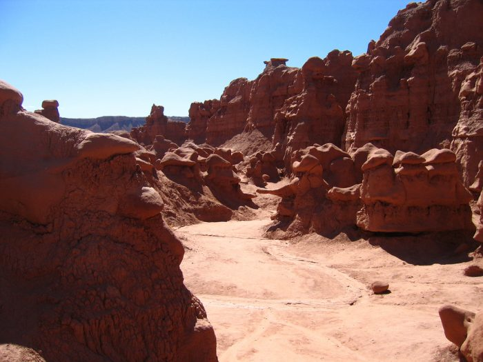 9. Goblin Valley State Park