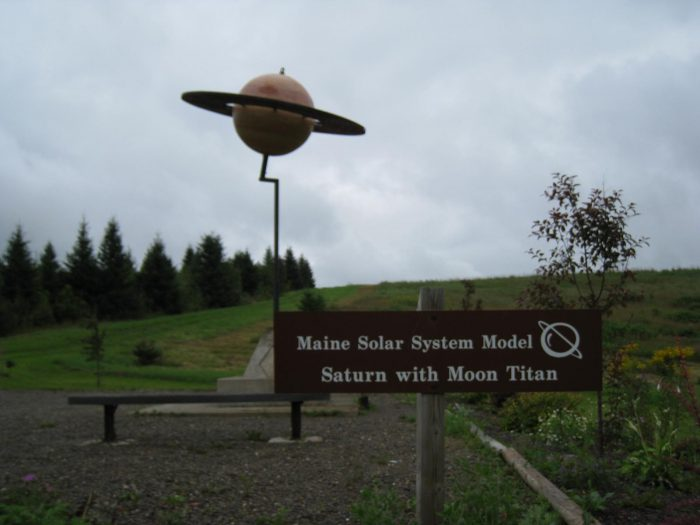 7. The Maine Solar System Model, Aroostook County