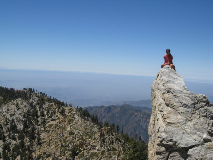 3. Ontario Peak at Mt. Baldy will make your heart race once you reach the top.