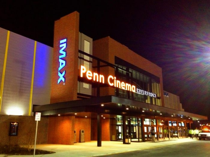 8. Immerse yourself in a movie at Penn Cinema on the Riverfront