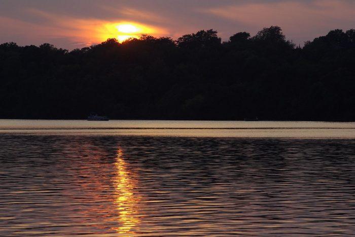 9. Lake Jacomo