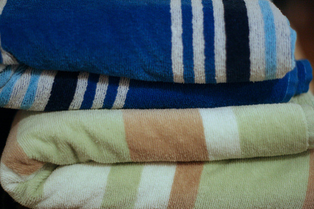 4. You're pretty much guaranteed to find an oversized beach towel in every house in the 401 area code.
