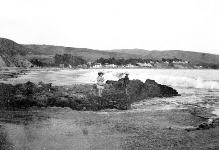 12. Laguna Beach long  before the mega mansions were built in this area.