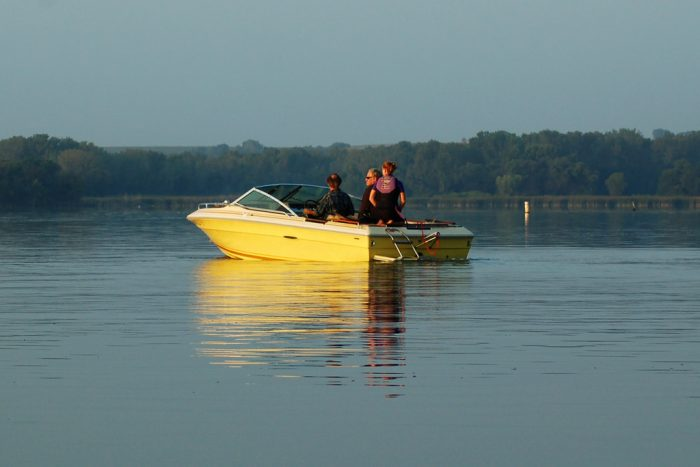8. Your boat has definitely come out of winter storage.