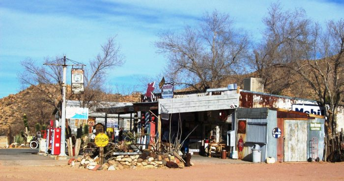 3. Spend an hour or so exploring the Hackberry General Store and its collection of memorabilia.