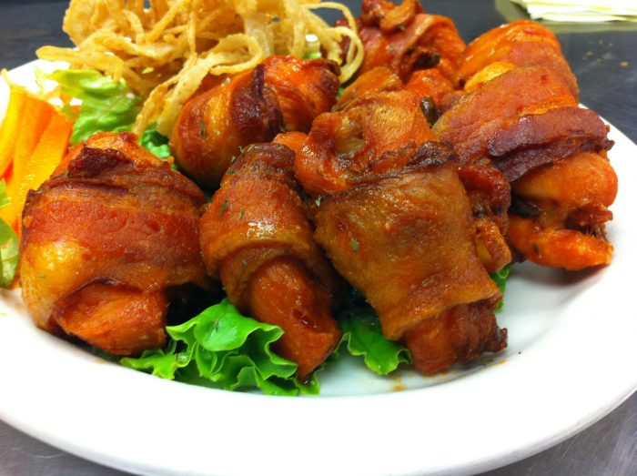 9. The Tavern is an old favorite of Austin. Who can blame them when they've got bacon wrapped wings?!