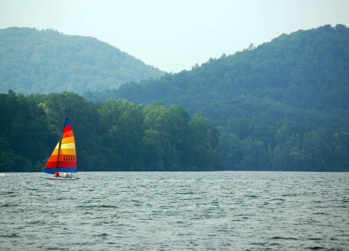 5. Lake Tillery